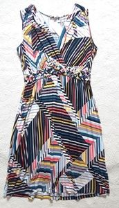 $50 Spense colorful stretchy braided women dress